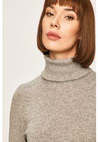 Szary sweter Lacoste casualowy, na co dzień