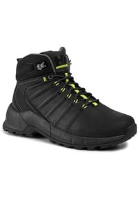 Helly Hansen - Trekkingi HELLY HANSEN - Pinecliff Boot 115-22.990 Black/Charcoal/Azid Lime. Kolor: czarny. Materiał: skóra, nubuk. Szerokość cholewki: normalna. Sport: turystyka piesza