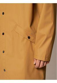 Rains Kurtka przeciwdeszczowa Unisex 1202 Brązowy Regular Fit. Kolor: brązowy