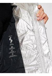 Srebrna kurtka puchowa Calvin Klein