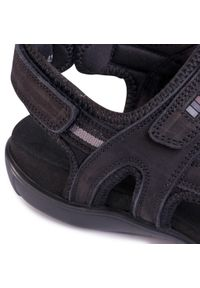 Czarne sandały Lasocki For Men klasyczne, na lato