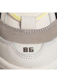Białe buty sportowe Bronx z cholewką, na co dzień #7