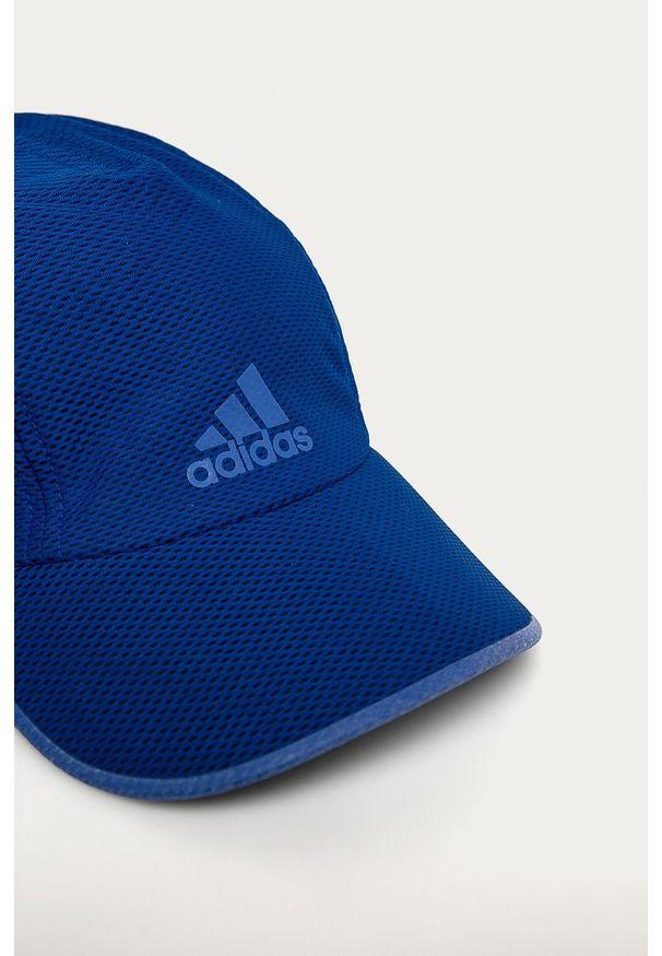 Niebieska czapka z daszkiem adidas Performance