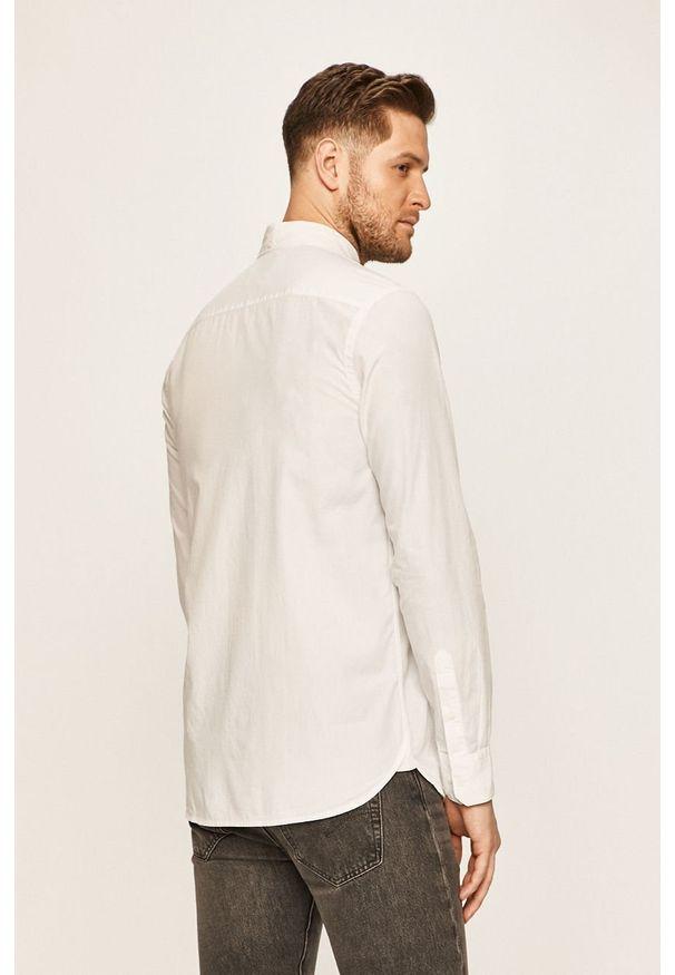 Biała koszula Calvin Klein długa, elegancka, button down