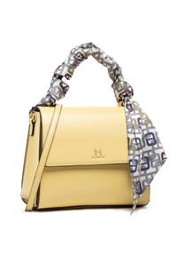 Żółta torebka klasyczna Marella skórzana