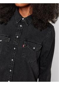 Levi's® Koszula jeansowa Essential Western 16786-0004 Czarny Regular Fit. Kolor: czarny. Materiał: jeans
