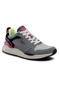 Pepe Jeans Sneakersy Trail Light Sport PMS30741 Szary. Kolor: szary
