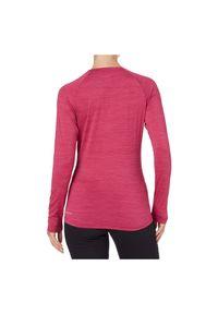 Koszulka damska do biegania Energetics Rylunga LS 411900. Materiał: materiał, elastan, tkanina, włókno, skóra, poliester. Długość rękawa: długi rękaw. Długość: długie. Sport: fitness