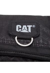 CATerpillar - Saszetka CATERPILLAR - Ronald 83439-478 Black Heat Embossed. Kolor: czarny. Materiał: materiał