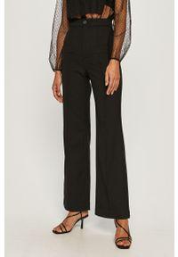 Czarne spodnie materiałowe Miss Sixty klasyczne