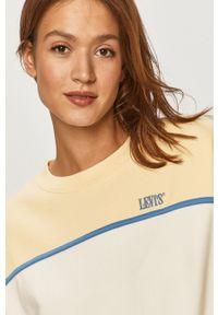 Biała bluza Levi's® biznesowa, bez kaptura, na spotkanie biznesowe