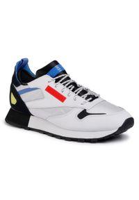 Białe buty sportowe Reebok na co dzień, z cholewką #7