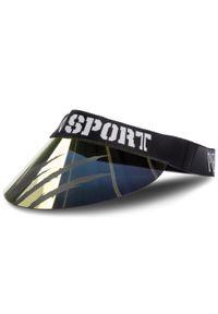 Złota czapka Plein Sport sportowa