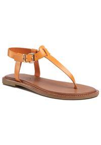 Pomarańczowe sandały Inuovo