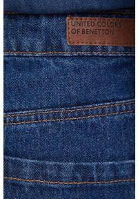 United Colors of Benetton - Jeansy Kim. Kolor: niebieski