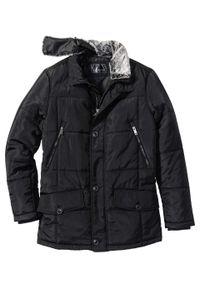 Czarna kurtka bonprix długa, na zimę
