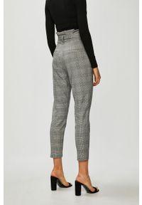 Szare spodnie materiałowe Vero Moda casualowe, na co dzień