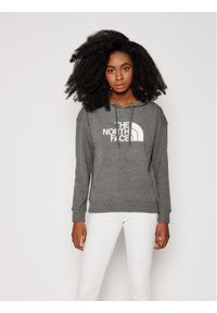 The North Face Bluza W Light Drew Peak Hoodie NF0A3RZ4DYY1 Szary Regular Fit. Kolor: szary