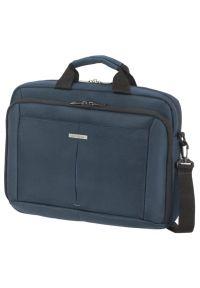 Niebieska torba na laptopa Samsonite biznesowa #5