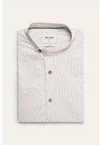 Koszula Only & Sons na co dzień, długa, casualowa, ze stójką