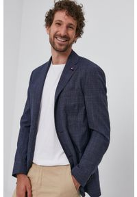 Tommy Hilfiger Tailored - Marynarka. Kolor: niebieski