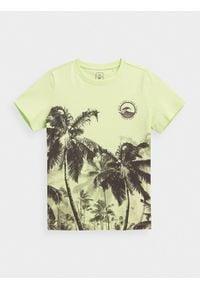 4f - T-shirt chłopięcy (122-164). Materiał: bawełna, dzianina #1