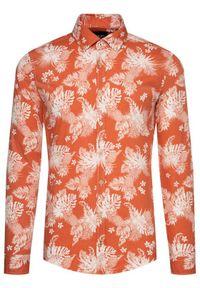 Pomarańczowa koszula casual JOOP! Jeans