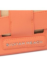 Pomarańczowa torebka klasyczna Silvian Heach klasyczna