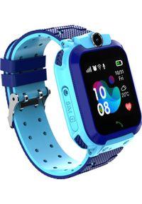 Niebieski zegarek NoName smartwatch
