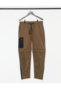outhorn - Spodnie trekkingowe męskie. Materiał: bawełna, tkanina, elastan. Długość: krótkie. Sport: turystyka piesza
