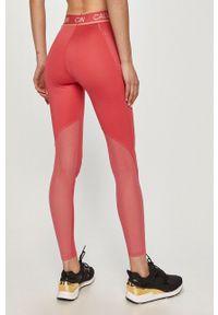 Różowe legginsy Calvin Klein Performance
