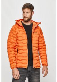Pomarańczowa kurtka Peak Performance z kapturem