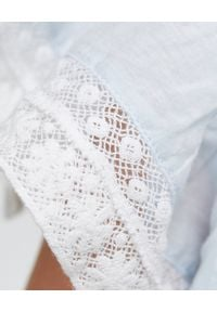 LOVE SHACK FANCY KIDS - Sukienka Audrey 3-12 lat. Kolor: biały. Materiał: bawełna, koronka, materiał. Wzór: haft, kwiaty, koronka, aplikacja. Sezon: lato #5