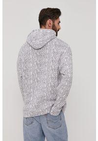 Tommy Jeans - Bluza bawełniana. Kolor: biały. Materiał: bawełna