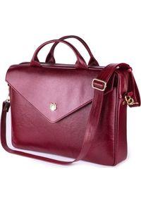 Czerwona torba na laptopa FELICE