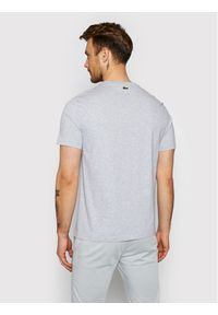 Lacoste T-Shirt TH0063 Szary Regular Fit. Kolor: szary