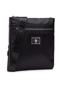 U.S. Polo Assn - Saszetka U.S. POLO ASSN. - Kaufman Flat Crossbody BEUKF5217MIP000 Black. Kolor: czarny. Materiał: materiał