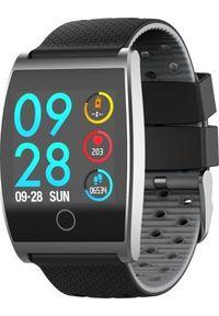 Szary zegarek Garett Electronics sportowy, smartwatch