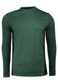 Zielony t-shirt Brave Soul sportowy, z długim rękawem