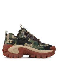 CATerpillar Sneakersy Intruder P110036 Zielony. Kolor: zielony