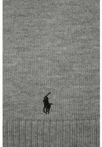 Szary szalik Polo Ralph Lauren melanż