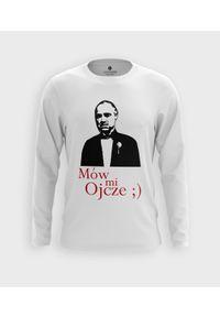 MegaKoszulki - Koszulka męska z dł. rękawem Mów mi ojcze. Materiał: bawełna