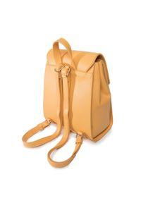 Nobo - Plecak NOBO - NBAG-I1540-C002 Kolorowy Żółty. Kolor: żółty. Materiał: skóra. Wzór: kolorowy. Styl: klasyczny