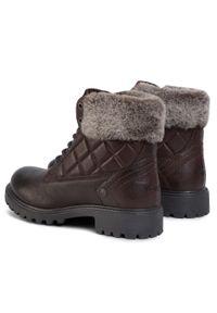 Brązowe buty trekkingowe Wrangler