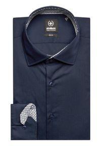 Niebieska koszula biznesowa Strellson