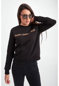 Karl Lagerfeld - BLUZA KARL LAGERFELD. Długość rękawa: długi rękaw. Długość: długie