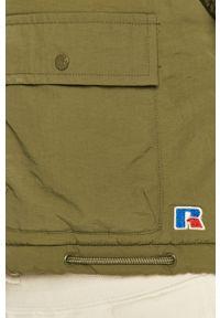 Zielona kurtka Russell Athletic casualowa, na co dzień