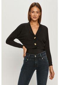 Czarny sweter rozpinany Haily's