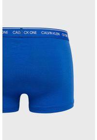 Calvin Klein Underwear - Bokserki CK One. Kolor: niebieski. Materiał: poliester