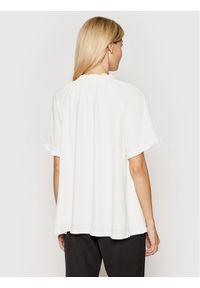 Birgitte Herskind Bluzka Lakiin 4052736 Biały Relaxed Fit. Kolor: biały